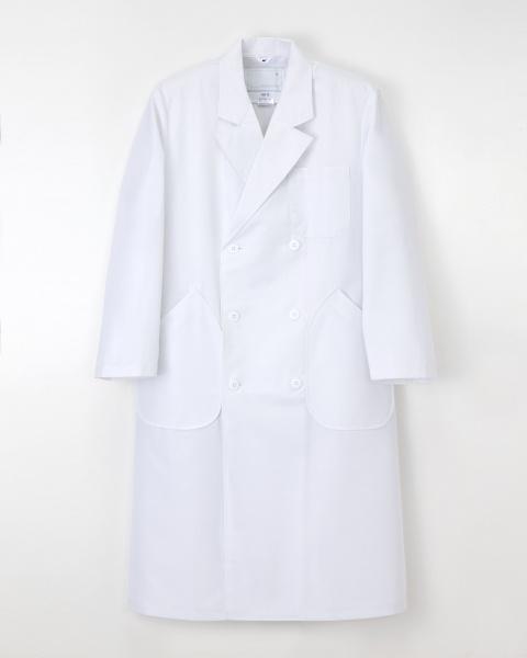 【歯科・病院ユニフォーム】ドラマ「ドクターX」で採用された ダブル診察衣【1色】男性用