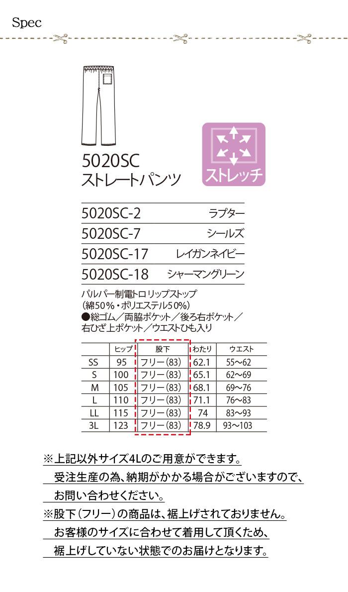 5020SC スクラブ