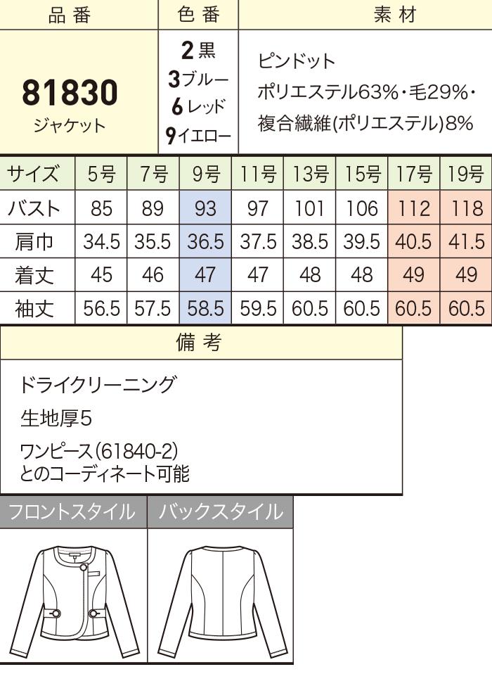 81830ジャケット