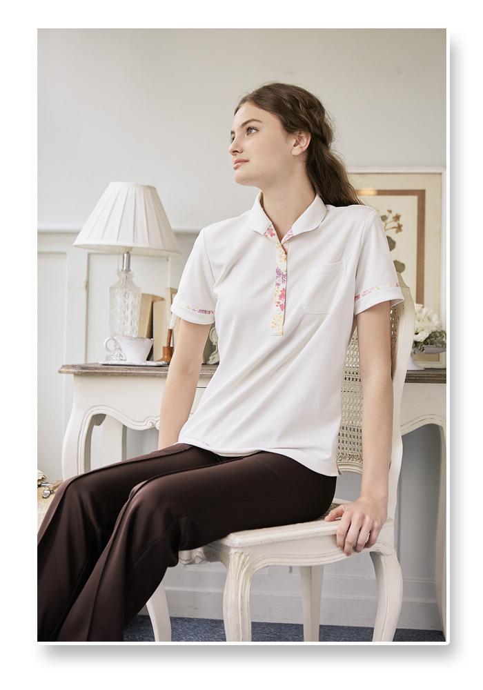 LW201 ニットシャツ モデル画像